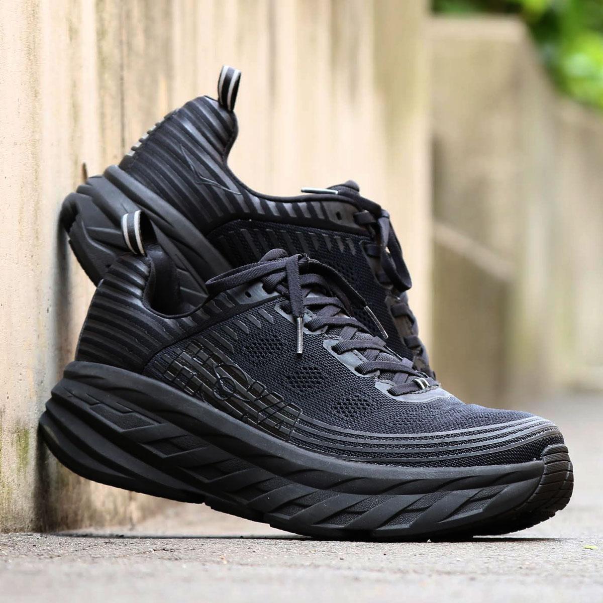 メンズ靴, スニーカー HOKA ONE ONE Bondi 6( 6)BLACKBLACK 19FA-I