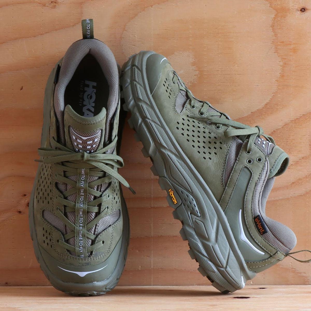 メンズ靴, スニーカー HOKA ONEONE TOR ULTRA LOW WP JP ( WP JP)Burnt Olive 19FA-I