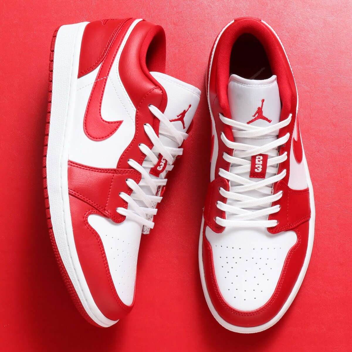 メンズ靴, スニーカー JORDAN BRAND AIR JORDAN 1 LOW( 1 LOW)GYM REDGYM RED-WHITE NIKE 20SU-S