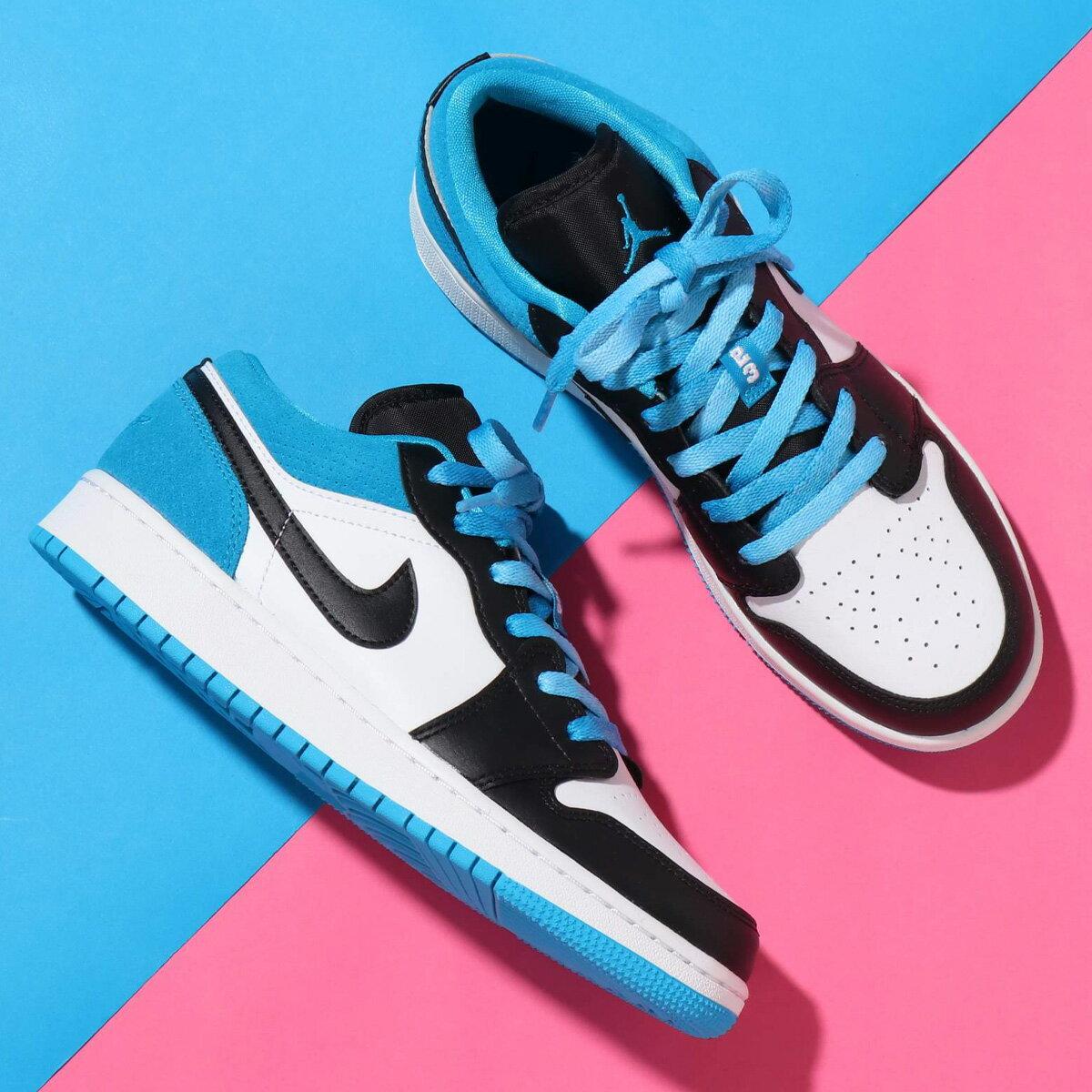メンズ靴, スニーカー JORDAN BRAND AIR JORDAN 1 LOW SE( 1 LOW SE)BLACKBLACK-LASER BLUE-WHITE 20SU-S at20-c