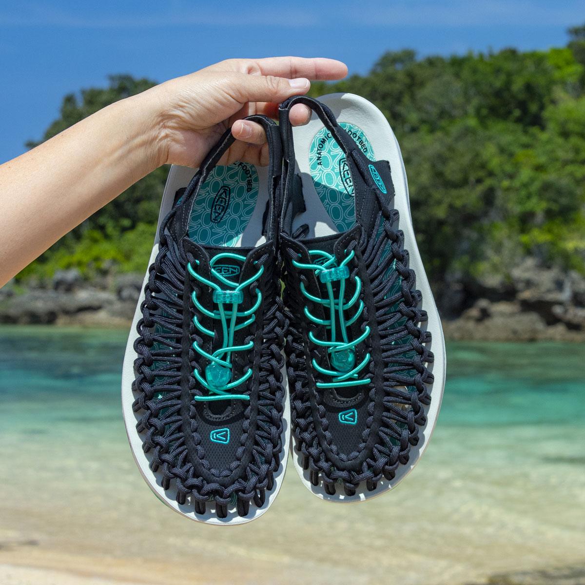 メンズ靴, スニーカー KEEN UNEEK M-ATMOS JADE( )BLACK 20SS-S at20-c