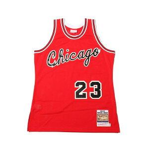 Mitchell & Ness AUTHENTIC JERSEY #23 MICHAEL JORDAN 84-85/CHICAGO BULLS(ミッチェルアンドネス オーセンティックジャージ #23 マイケルジョーダン/シカゴ ブルズ)RED【メンズ バスケットボール ジャージ】19HO-I