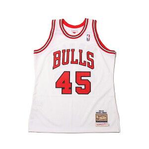 Mitchell & Ness AUTHENTIC JERSEY #23 MICHAEL JORDAN 94-95/CHICAGO BULLS(ミッチェルアンドネス オーセンティックジャージ #23 マイケルジョーダン/シカゴ ブルズ)WHITE【メンズ バスケットボール ジャージ】19HO-I