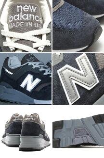 NewBalanceM997NV(ニューバランスM997NV)NAVY【14LS-I】