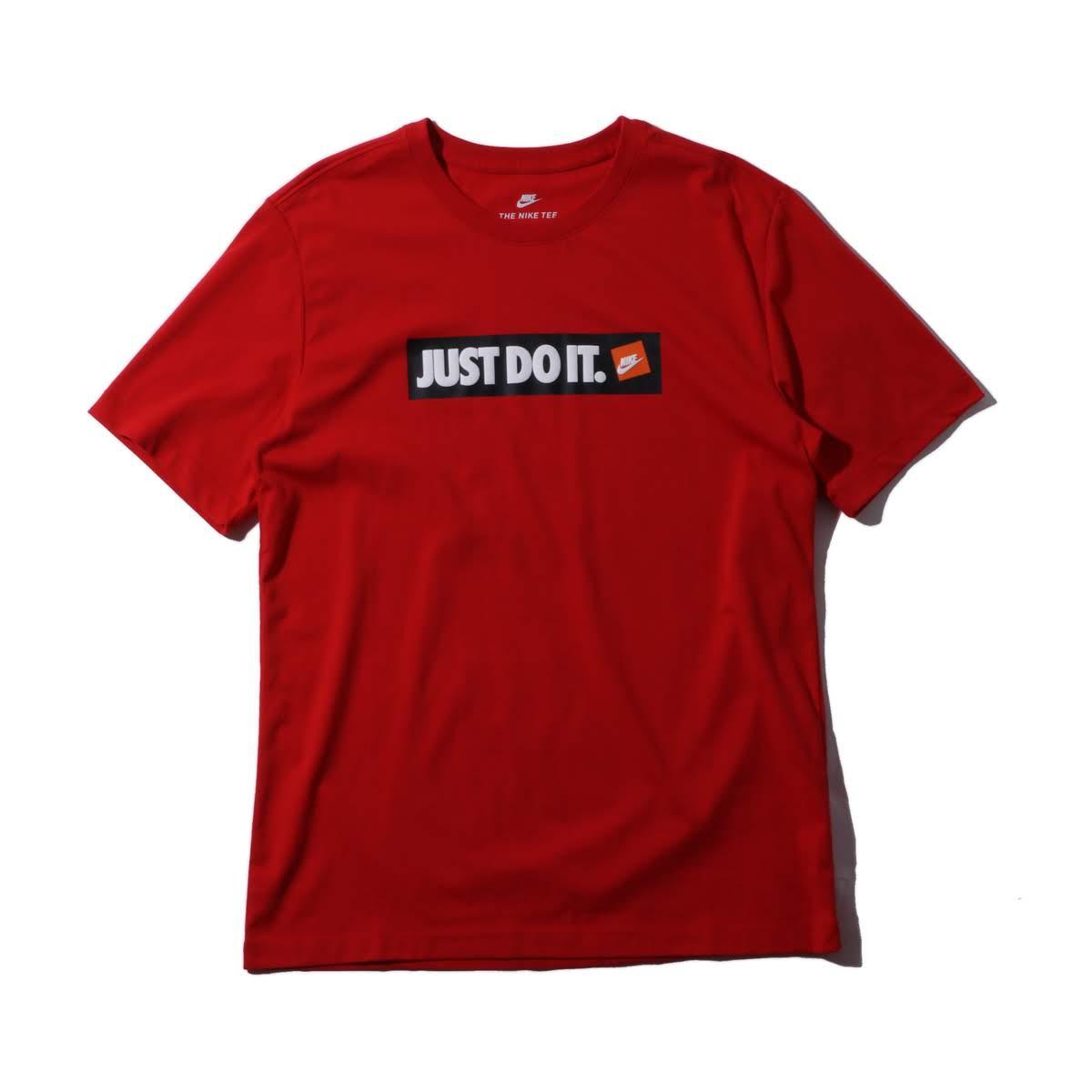 トップス, Tシャツ・カットソー NIKE AS M NSW TEE HBR 1( HBR T 1)UNIVERSITY REDWHITE T18FW-I