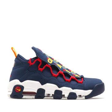 NIKE AIR MORE MONEY(ナイキ エア モア マネー)MIDNIGHT NAVY/MIDNIGHT NAVY-SAIL-GYM RED【メンズ レディース スニーカー】18FA-I