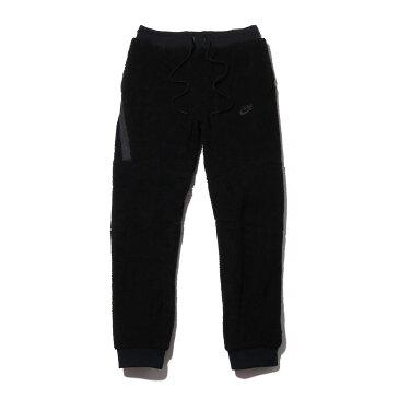 NIKE AS M NSW JGGR TCH ICON SHERPA(ナイキ シェルパ テック アイコン ジョガーパンツ)BLACK/BLACK【メンズ パンツ】18HO-I