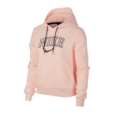 NIKE AS W NSW HOODIE VRSTY(ナイキ ウィメンズ バーシティ フーディ)WASHED CORAL/WASHED CORAL/MIDNIGHT NAVY【レディース パーカー】19SP-I