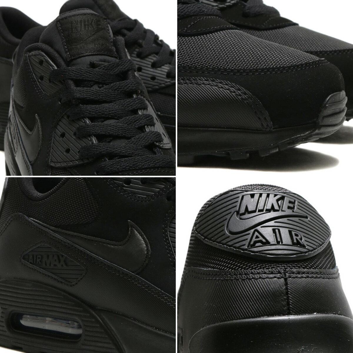 NIKE AIR MAX 90 ESSENTIAL(ナイキ エア マックス 90 エッセンシャル)BLACK/BLACK-BLACK-BLACK-BLACK-BLACK17SP-S