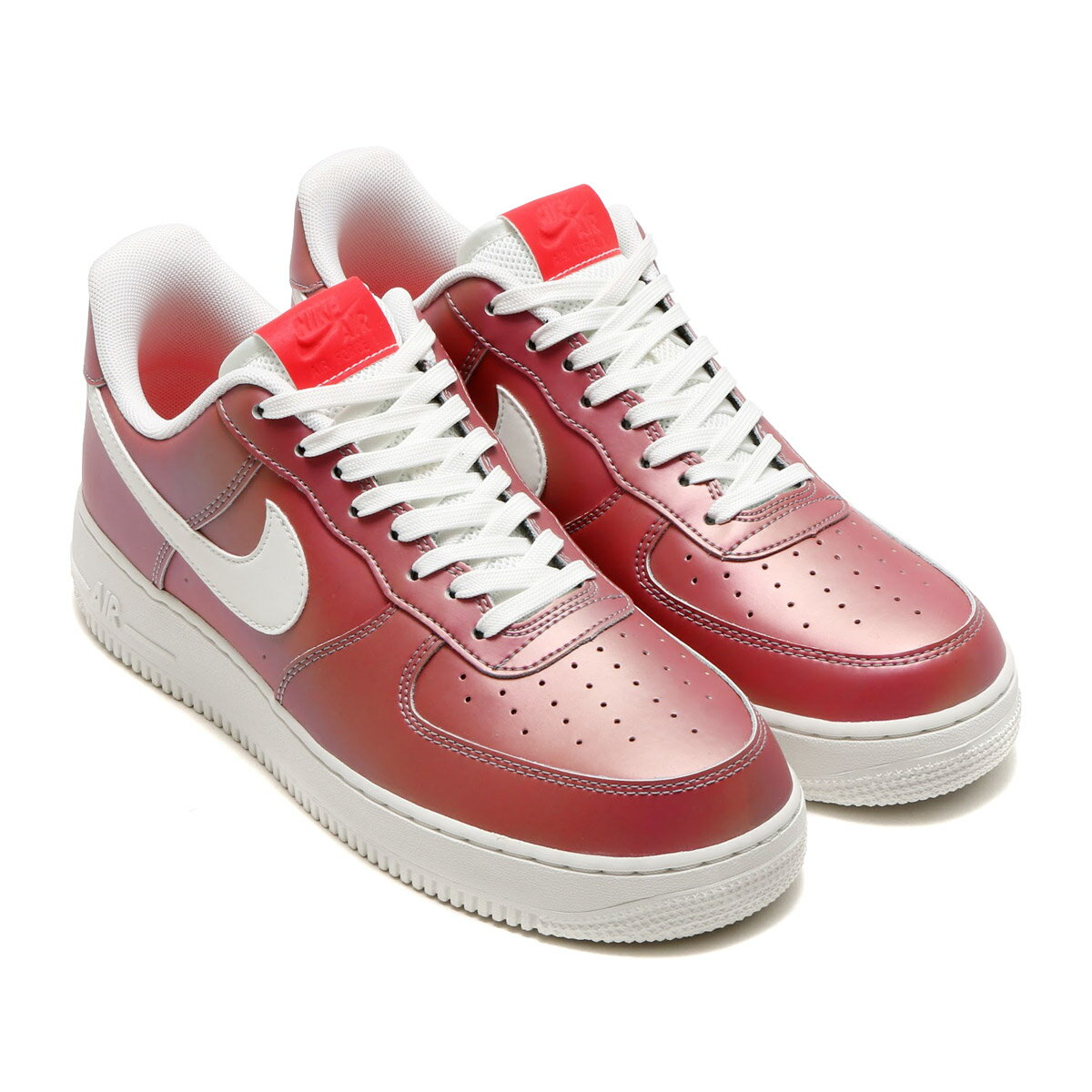 NIKE AIR FORCE 1 '07 LV8(ナイキ エア フォース 1 07 LV8)TRACK RED/SUMMIT WHITE-BLACK17SU-S