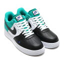 NIKE AIR FORCE 1 '07 LV8(ナイキ エア フォース 1 07 LV8)BLACK/DEEP ROYAL BLUE-NEPTUNE GREEN【メンズ スニーカー】17FA-I