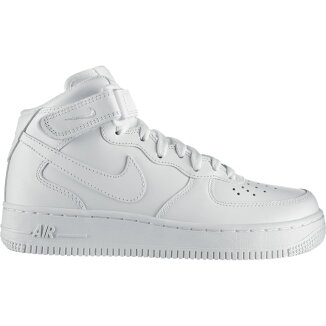 NIKEWMNSAIRFORCE1'07MID(ナイキウィメンズエアフォース1'07ミッド)WHITE/WHITE【15SS-S】