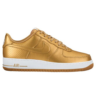 NIKE AIR FORCE 1 07年LV8(耐吉空軍1 07 erebeto)METALLIC GOLD/METALLIC GOLD-WHITE 16FA-I