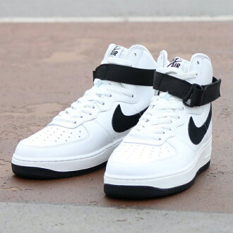 NIKE AIR FORCE 1 HI RETRO QS(是,耐吉空軍1老式的QS)SUMMIT WHITE/BLACK 16SP-S