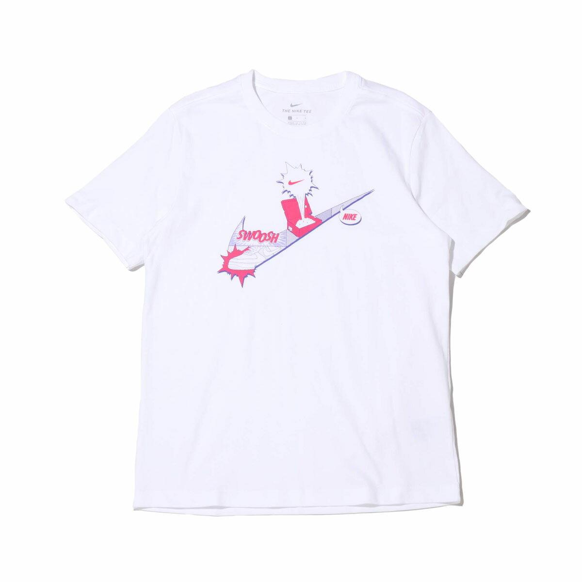 トップス, Tシャツ・カットソー NIKE AS M NSW TEE FTWR 1 HBR( FTWR 1 HBR T)WHITE T20SU-SMANGA COLLECTION at20-c