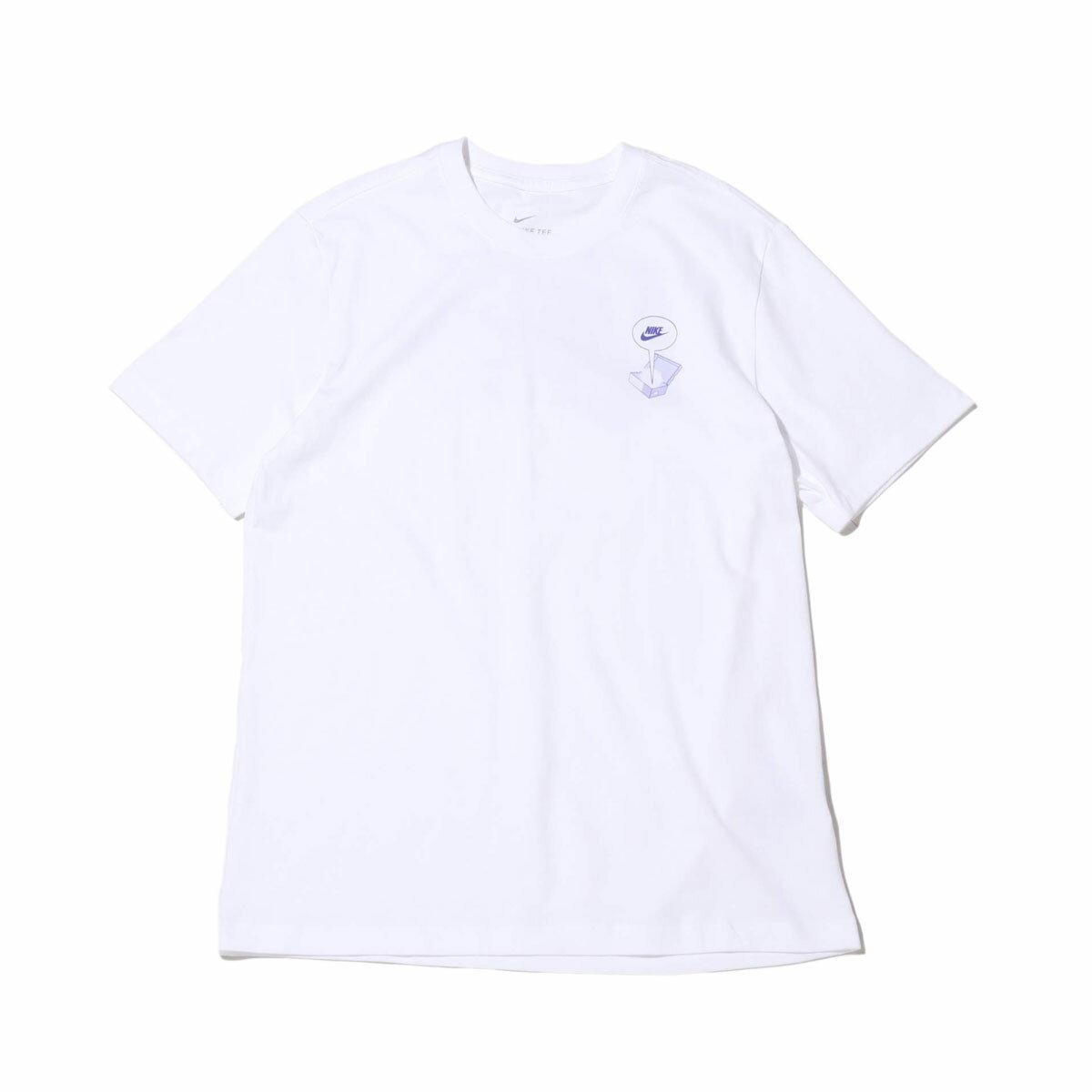 トップス, Tシャツ・カットソー NIKE AS M NSW TEE FTWR DSTRD BM( FTWR DSTRD BM T )WHITE T20SU-SMANGA COLLECTION at20-c