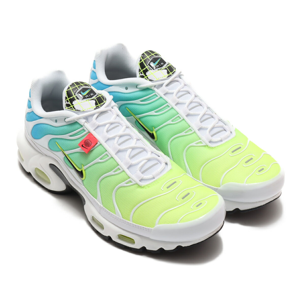 メンズ靴, スニーカー NIKE AIR MAX PLUS WW( WW)WHITEBLACK-BLUE FURY-VOLT 20FA-I at20-c