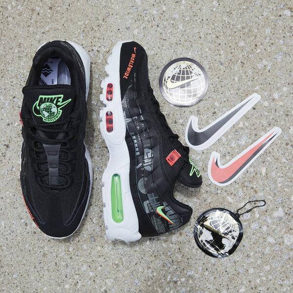 NIKEAIRMAX95WW(ナイキエアマックス95WW)BLACK/WHITE-GREENSTRIKE-FLASHCRIMSO
