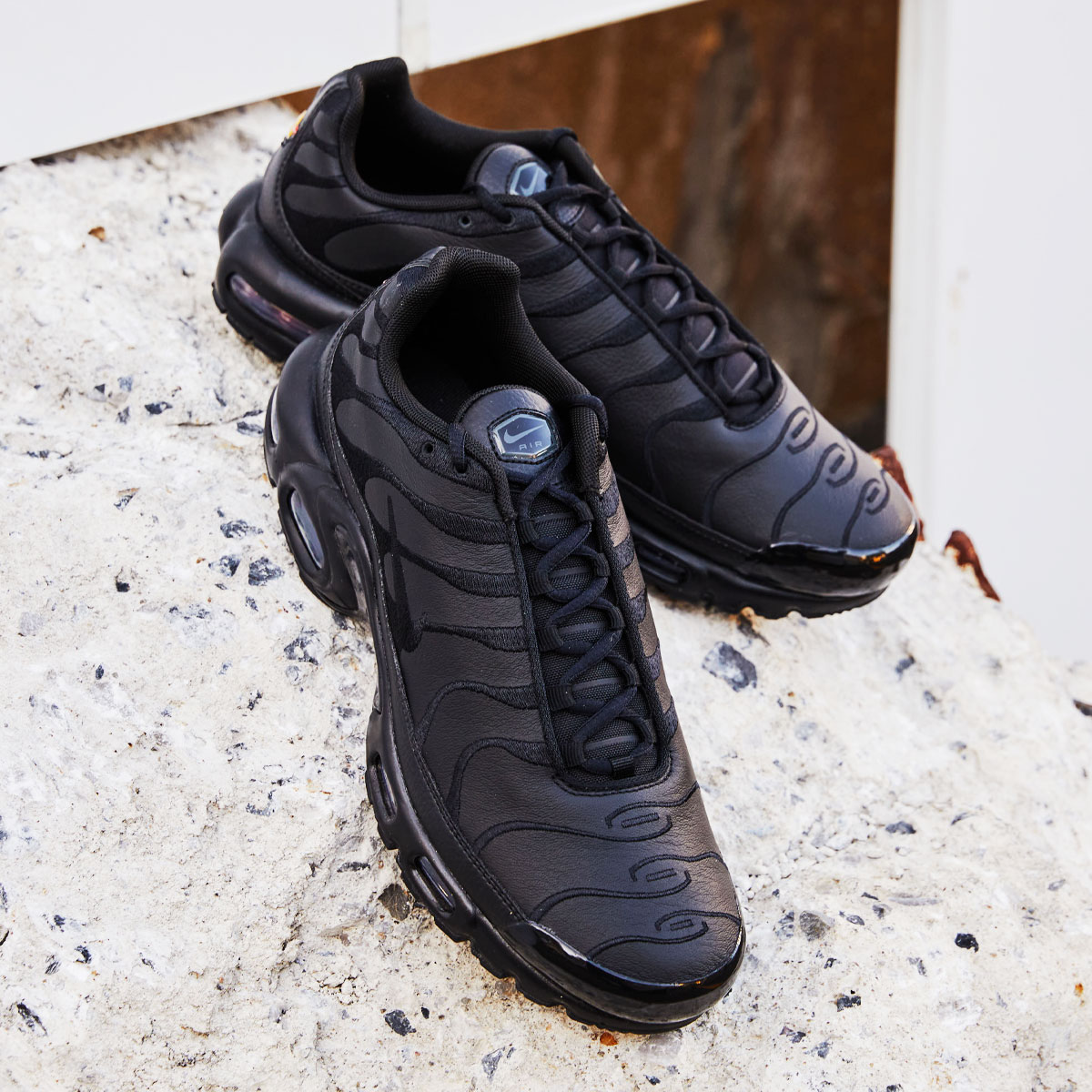 メンズ靴, スニーカー NIKE AIR MAX PLUS( )BLACKBLACK-BLACK 20SP-I