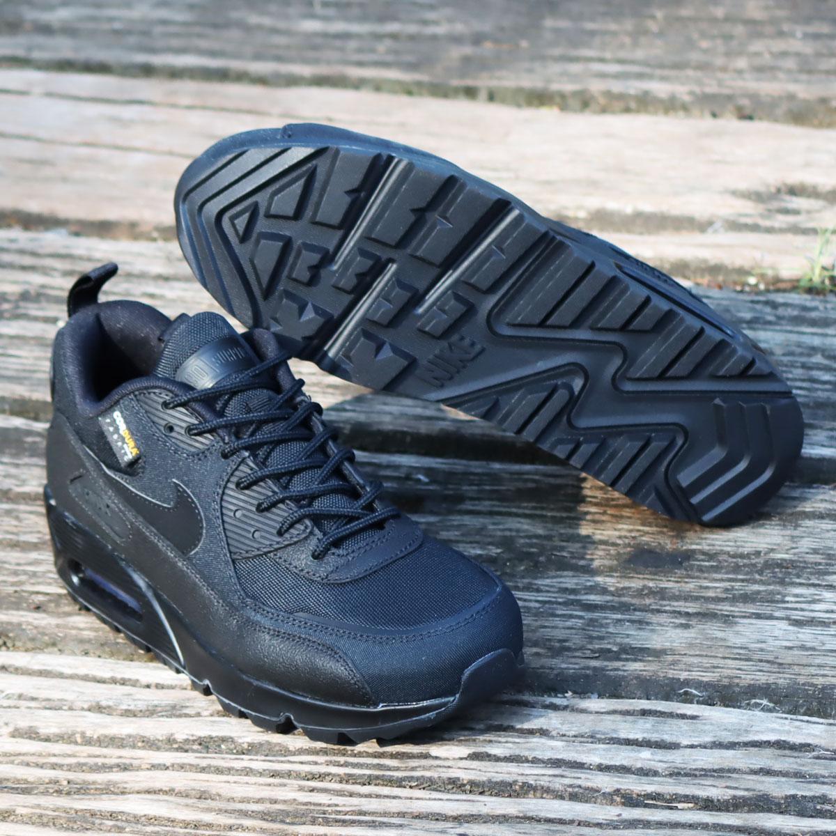 メンズ靴, スニーカー NIKE AIR MAX 90 SURPLUS( 90 )BLACKBLACK-INFRARED 20HO-I