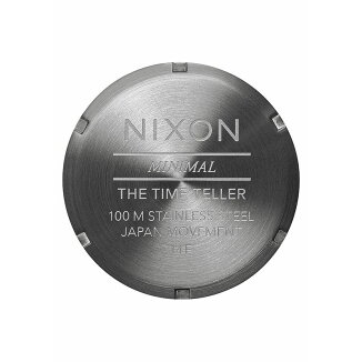 NIXONTIMETELLER(ニクソンタイムテラー)GUNMETAL/SILVER/SURPLUS【時計】16HO-I