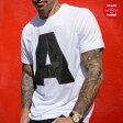 AMI JAMES for TATTOODO and HUMMEL YOAV SS TEE(アミ ジェームス フォー タトゥードー アンド ヒュンメル YOAV SS Tシャツ)WHITE14FW-S