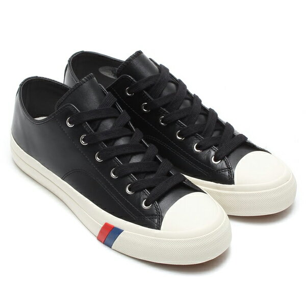 black leather pro keds