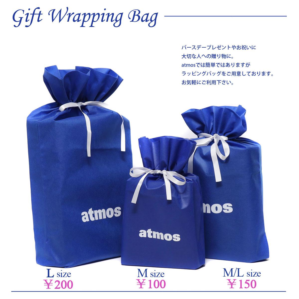 バッグ・小物・ブランド雑貨, その他 atmos Gift Wrapping Bag(ML) ( ) BLUE