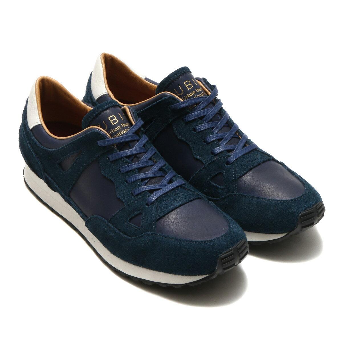 メンズ靴, スニーカー UBIQ BALLY J( )NAVY 17FW-S