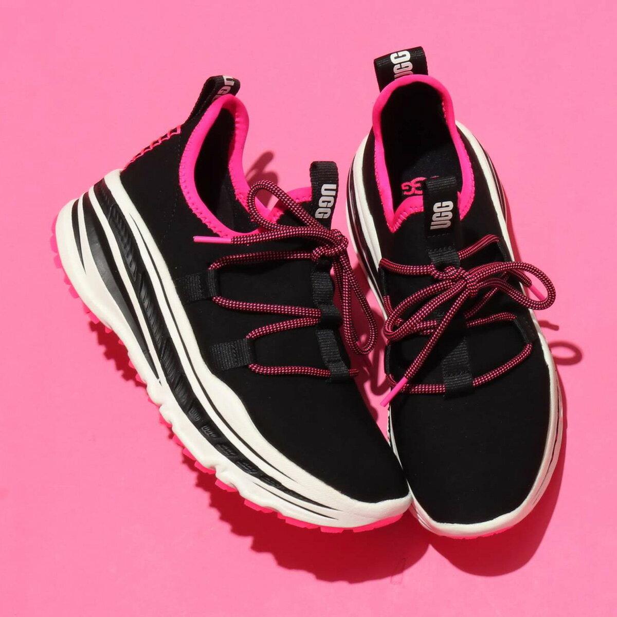 レディース靴, スニーカー UGG Lace Runner( )BLACK PINK 20SS-I