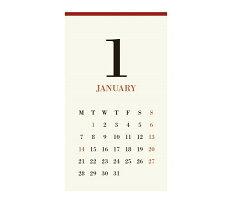 MUCUCLAMPCALENDERムククランプカレンダー(2019年版リフィル)