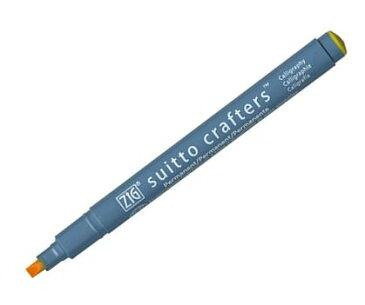 油性マーカー ZIG suitto crafters Calligraphy 3.5mmカリグラフィーチップ(3.5mm芯)