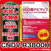 パイオニア カロッツェリアHDD 楽ナビ マップ 地図更新ソフト CNDV-R3800H