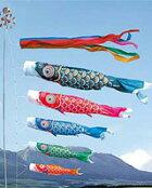 鯉のぼり☆★「ゴールド鯉5M8点セット」
