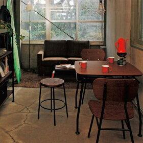 ダイニングテーブル幅120cmおしゃれカフェテーブル食卓テーブルレトロ低め食卓食卓テーブル長方形デスク棚付き木製ダイニングテーブル収納4人用食卓家具北欧ファミリーヴィンテージ風カフェアイアン