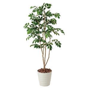 光触媒 観葉植物 高さ130cm フェイクグリーン 光の楽園 おしゃれ マウンテンアッシュ 消臭 抗菌 人工観葉植物 お手入れ不要 オフィス 北欧 玄関 空気清浄 造花 カフェ インテリアグリーン グ