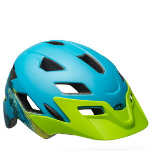ベル子供ヘルメットサイドトラックBELLSIDETRACKマットグリーン/ブルーナーリーUY(50-57cm)7101836