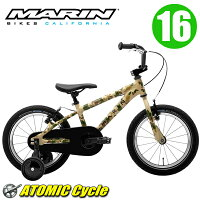【即納】【在庫あり】MARINマリン2017DONKYJr1616インチカモアルミフレーム子供用キッズ自転車