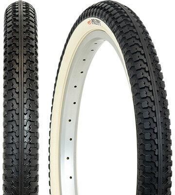 電動自転車 タイヤ GIZA PRODUCTS ギザ プロダクツ プレッピー 26x1.95 アイボリー サイド TIR35708 耐摩耗性・耐パンク性