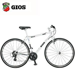 2018GIOS(ジオス)MISTRALミストラルホワイトクロスバイク