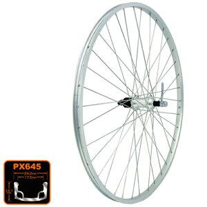ホイール リヤ PX645/RM40 8SPD 700/36H シルバー WLR03800