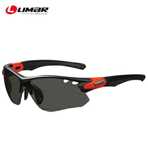 LIMAR (リマール) サングラス GLS03902 OF8.5 CH マットBLK/ブライト RED