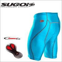 【在庫あり】SUGOIスゴイRSShortRSショーツ38394UブルーMサイズサイクルウェアー