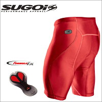 【在庫あり】SUGOIスゴイRSShortRSショーツ38394UレッドLサイズサイクルウェアー