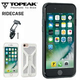 TOPEAK (トピーク) ライドケース (iPhone 7用) セット