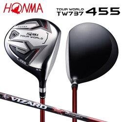 【受注生産】ホンマゴルフツアーワールドTW737455ドライバーVIZARDEX-C55カーボンシャフトHONMATOURWORLD