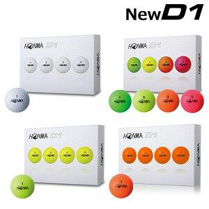 【1ダース】 ホンマ ゴルフ NEW D1 BT-1801 ゴルフボール HONMA 本間ゴルフ【ホンマD1ゴルフボール】【あす楽対応】