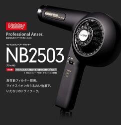 NobbyNB2503マイナスイオンヘアードライヤー