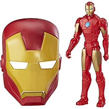 【中古】【輸入品・未使用未開封】Marvel Titan Hero Series Iron Man Figure and Mask Bundle Walmart Exclusive画像