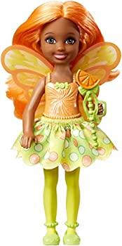 【中古】【輸入品・未使用未開封】Barbie Dreamtopia Small Fairy Doll Citrus画像